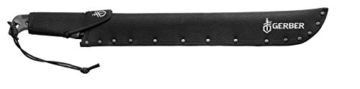 Gerber GE31-002848 Gator Bush Machete, schwarz-grau -